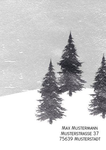 Ansicht 2 - Foto Einladung Winterwald