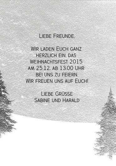 Ansicht 5 - Foto Einladung Winterwald