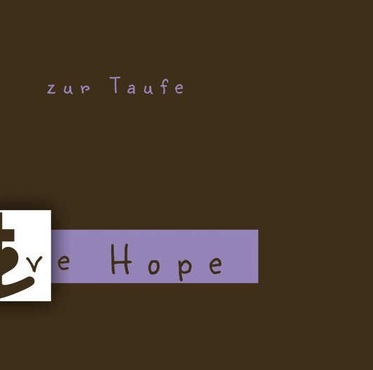 Ansicht 2 - Taufe faith love hope