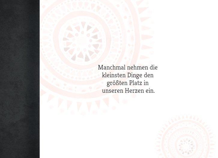 Ansicht 4 - Glückwunschkarte zur Geburt Mandala
