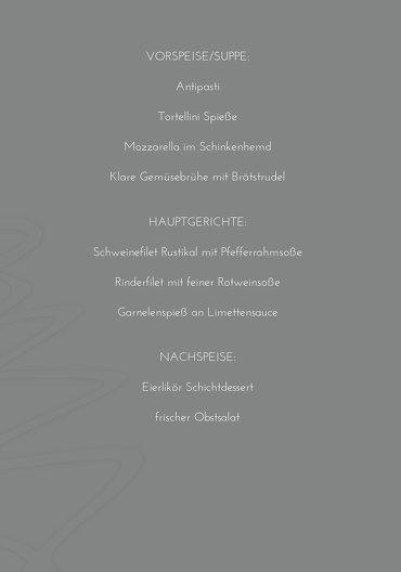 Ansicht 5 - Menükarte Schnörkelbaum