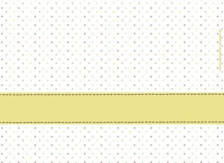 Ansicht 2 - Geburtskarte Pünktchen