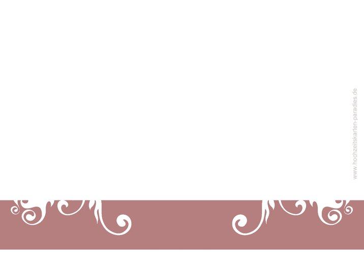 Ansicht 3 - Hochzeit Einladung squiggle square