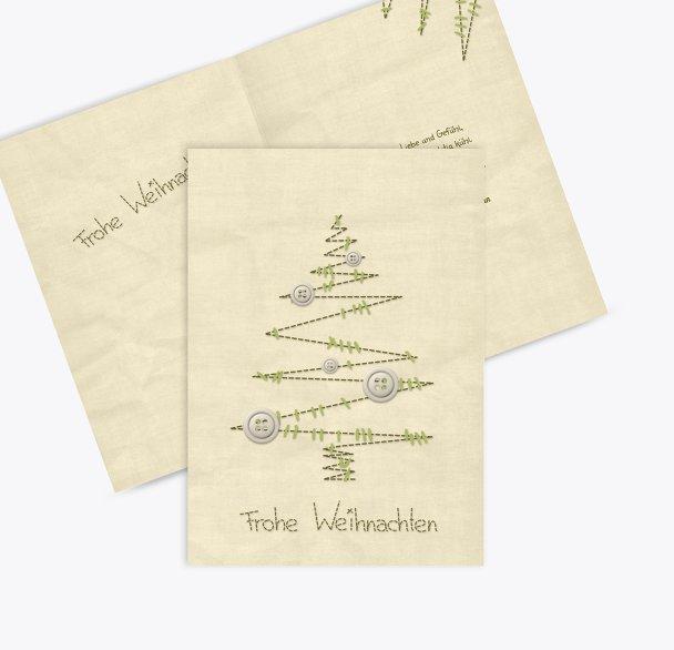 Grußkarte Nahtbaum