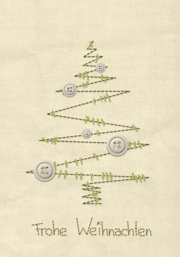 Ansicht 3 - Grußkarte Nahtbaum