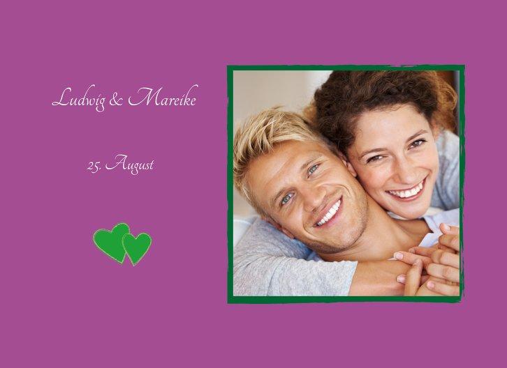 Ansicht 4 - Hochzeit Einladung Eheglück