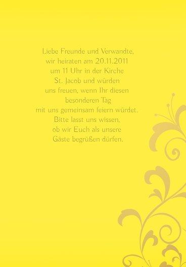 Ansicht 7 - Hochzeit Einladung 3 Glücksgriff
