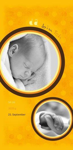 Ansicht 4 - Babykarte da bin ich
