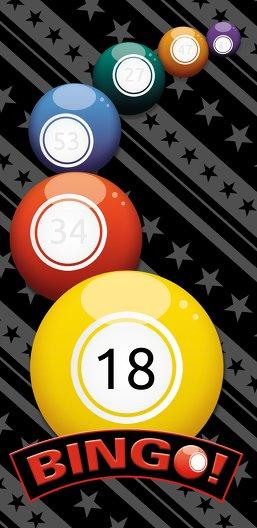 Ansicht 3 - Einladung zum Geburtstag Bingo 18 Foto