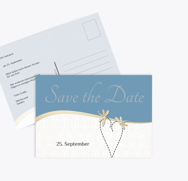 Save-the-Date Unzertrennlich