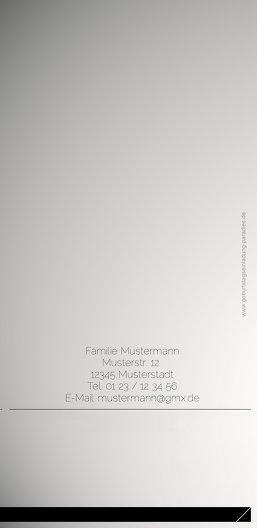 Ansicht 2 - Einladungskarte gentleman