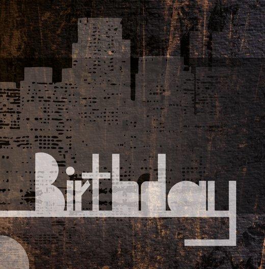 Ansicht 4 - Geburtstagskarte City Lights 40