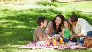 Ostern-Picknick
