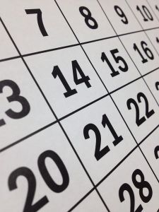 Mai Kalendertag