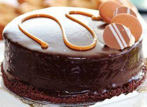 Zum Muttertag - eine Torte
