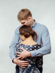 Partner unterstützen und trösten