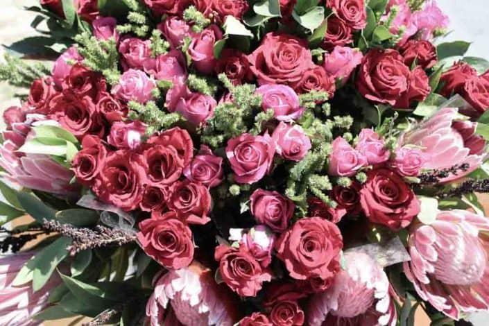 Ein Strauß Rosen