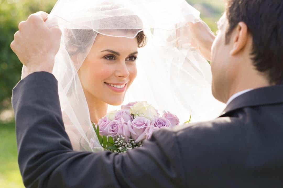 Hochzeit mit einem Trauspruch bekräftigen