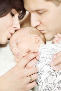 Ein Baby ist das größte Glück auf Erden