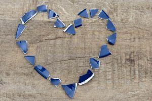 Herz aus Scherben