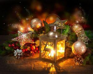 familiäre Weihnachtszeit