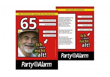 zum 65. geburstag einladen | karten-paradies.de, Einladung