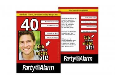 einladungen zum 40. geburtstag | karten-paradies.de, Einladungen
