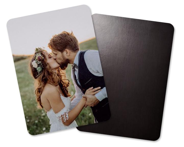 Ansicht 4 - Hochzeits-Magnete mit Bildern
