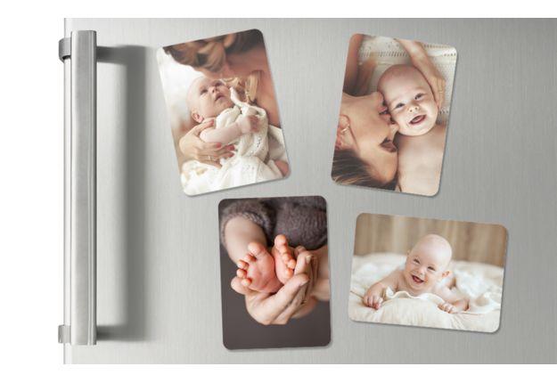 Ansicht 2 - Baby-Magnete mit Bildern