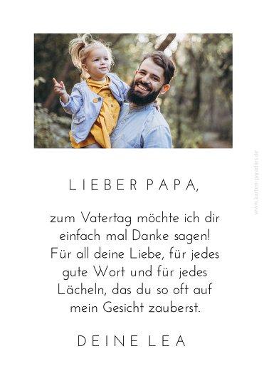 Ansicht 4 - Vatertagskarte Kreuzworträtsel