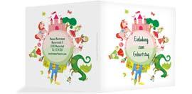 Verspielte Einladungskarten Zum Geburtstag