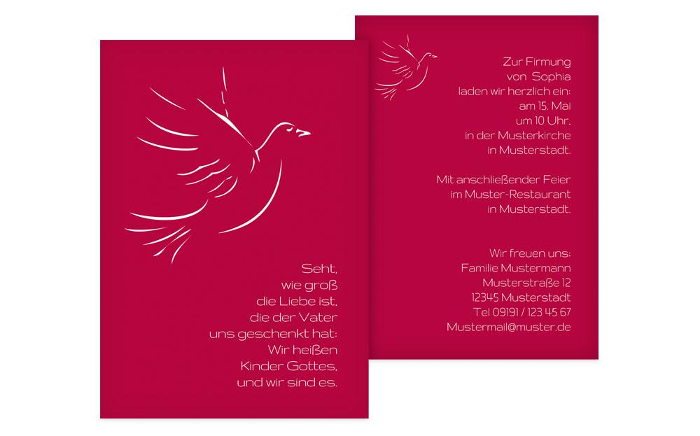 Einladungskarten Fur Firmung Selber Basteln U2013 Sleepwells, Einladungs